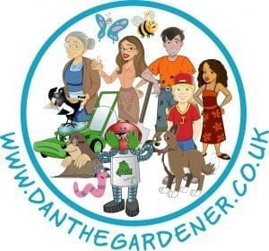 Dan the gardener and friends