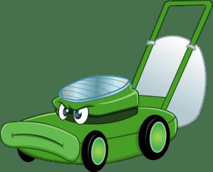 rusty the lawnmower