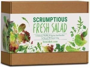 Fresh Salad Gift Seed Kit.