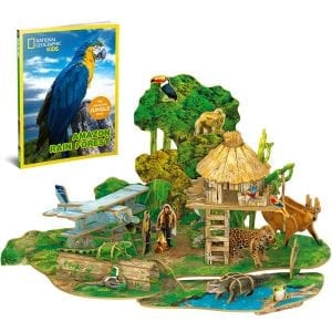 National Geographic Educational Kids 3D Puzzle