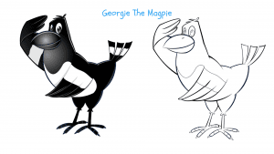 Georgie The Magpie