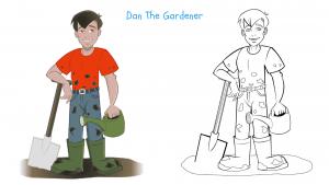 Dan The Gardener - Kids Gardening Ideas