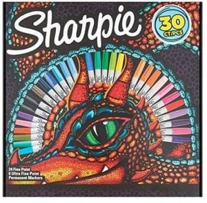 30 Sharpie Markers