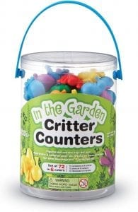 Garden Bug Counters