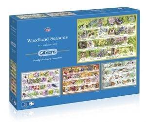 Woodland Seasons Jigsaw Puzzle,