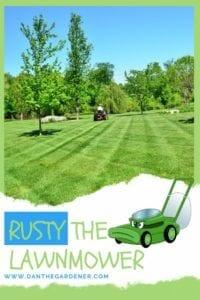 Rusty The Lawnmower Kids Lawnmower